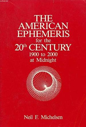 American Ephemeris 20th Century at Noon